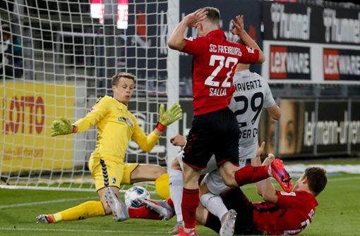 Bayer Leverkusen siegt gegen SC Freiburg