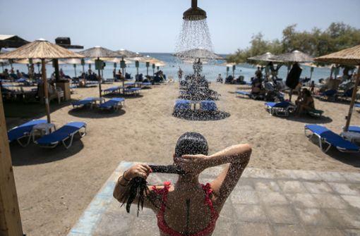 Bis zu 46 Grad  – historische Hitze in Griechenland