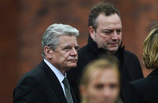 Gauck verspricht Unterstützung