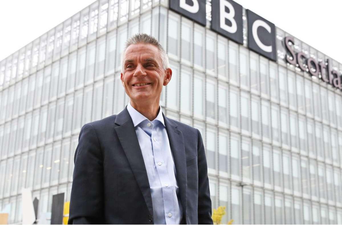 Tim Davie ist der neue Chef der BBC – ein Konservativer mit Umbauplänen Foto: dpa/Andrew Milligan