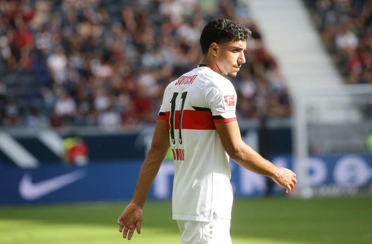 Gleich im ersten Spiel für den VfB Torschütze: Omar Marmoush Foto: Baumann/Hansjürgen Britsch