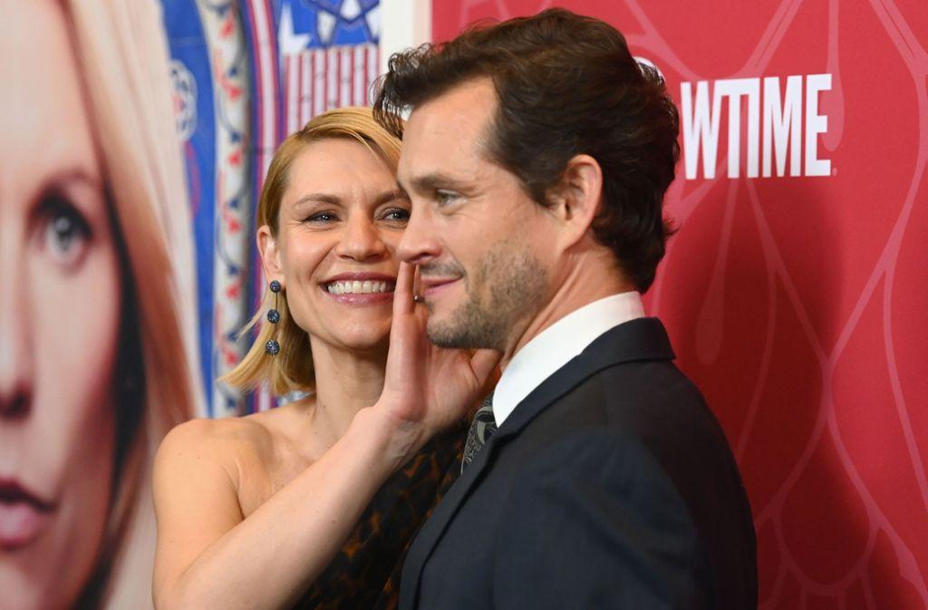 Claire Danes erschien gemeinsam mit ihrem Ehemann zur Premiere. Foto: AFP/ANGELA WEISS