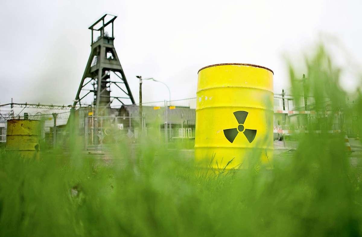 Kann auch idyllisch wirken: Atommülllager beim Schacht Konrad Foto: dpa