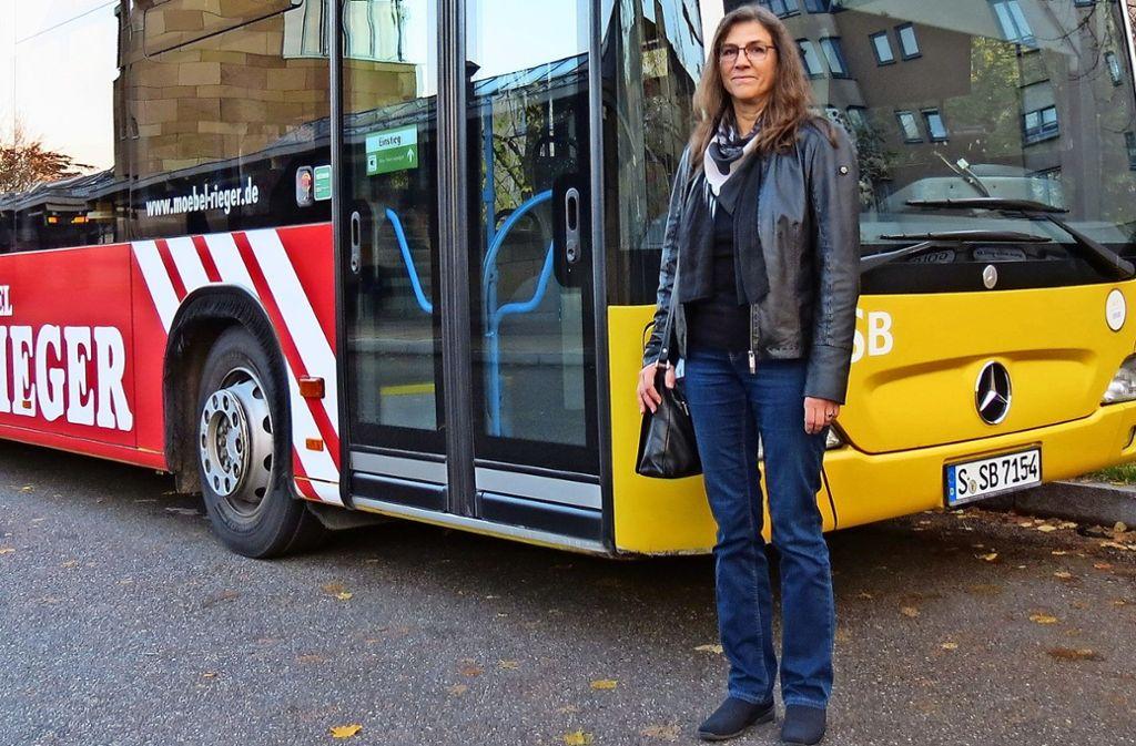 Heike Bauer fährt nicht gerne Bus. Nach dem Erlebnis mit ihrer Mutter in der Linie 65 ist diese Abneigung noch größer geworden. Foto: Julia Bosch