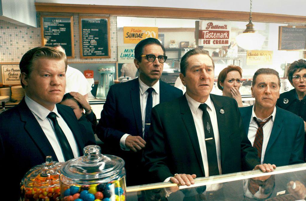 Jesse Plemons, Ray Romano, Robert De Niro, Al Pacino Foto: Netflix