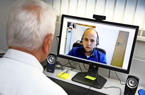 Videochat mit dem Rentenberater