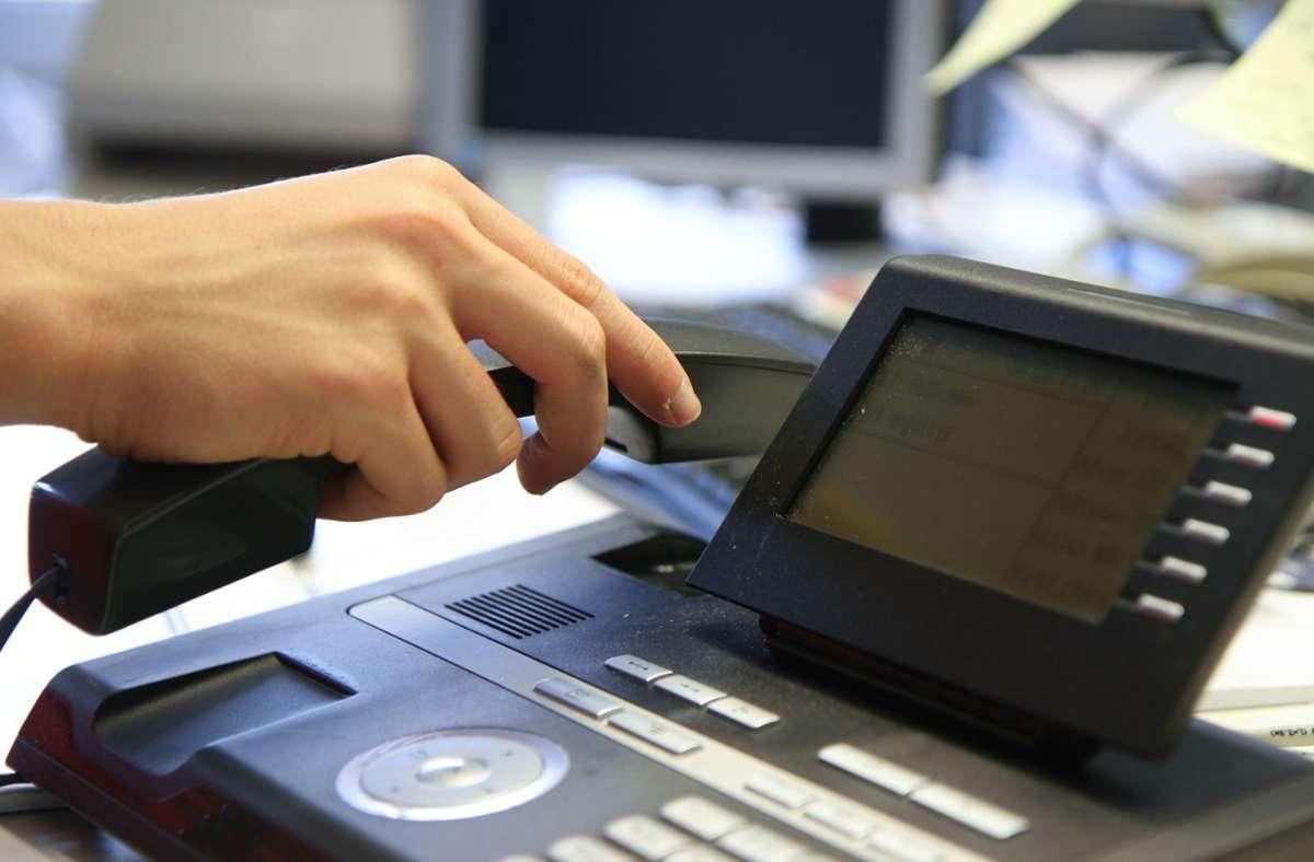 Die Polizei warnt: Derzeit treiben wieder angebliche Microsoft-Mitarbeiter ihr Unwesen. Foto: Eibner-Pressefoto/Fleig / Eibner-Pressefoto