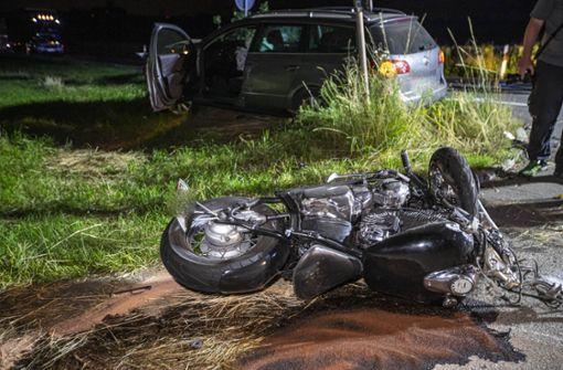 33-jähriger Motorradfahrer stirbt bei Unfall