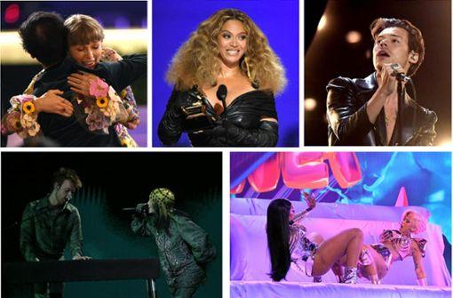 Das sind die Gewinner der Grammy-Nacht