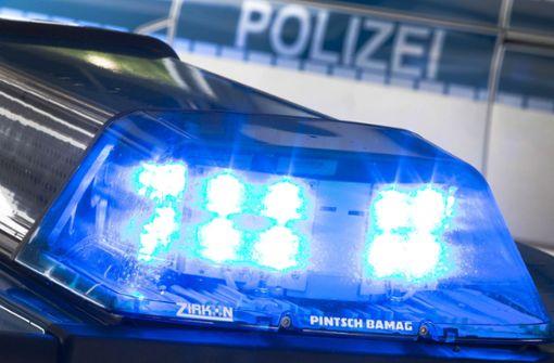 Gegen Neckarpark-Leitschild gekracht und weitergefahren