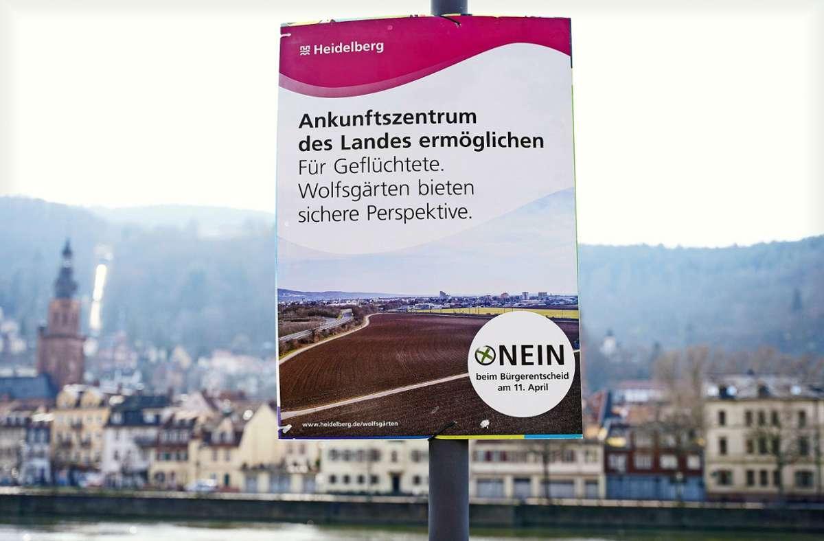 Die Verlegung des  Ankunftszentrums in Heidelberg ist im Bürgerentscheid gekippt worden. Foto: dpa/Uwe Anspach