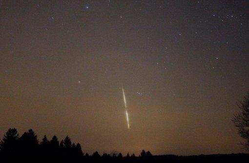 Phänomen entpuppt sich als Meteorit