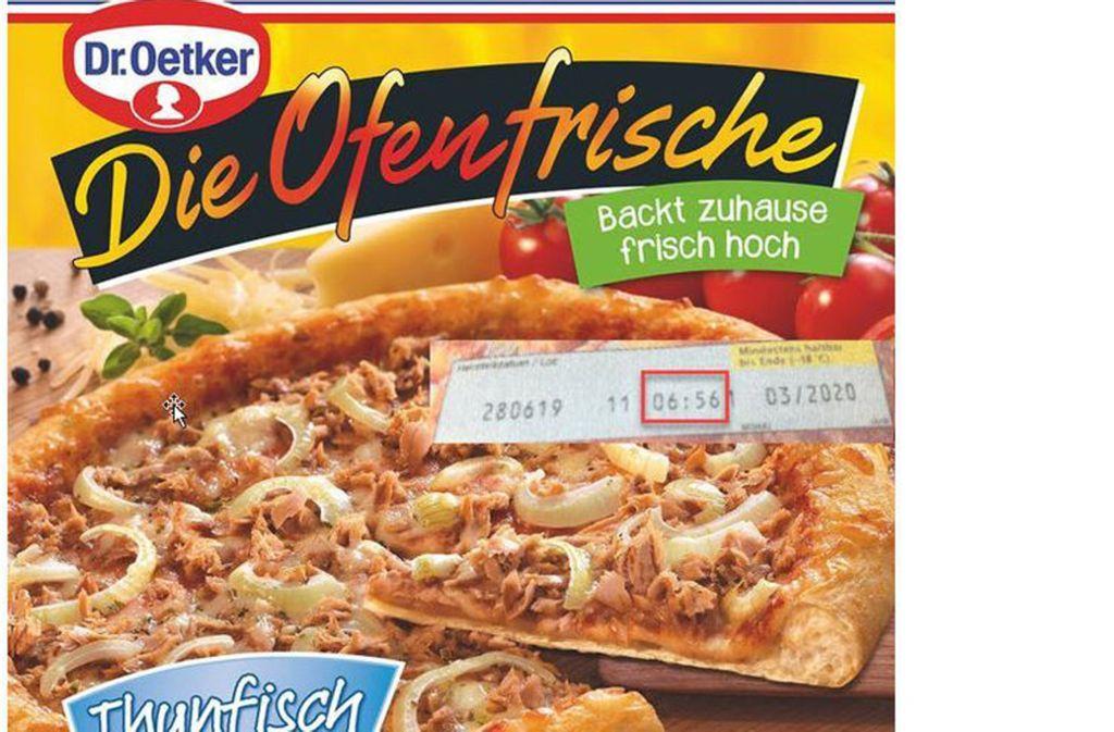 Es geht um diese Tiefkühlpizza von Dr. Oetker. Foto: Unternehmen