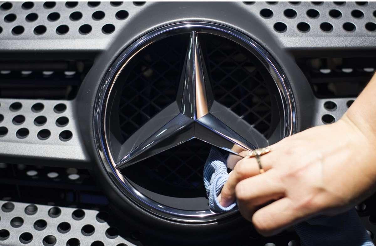 Künftig werden alle Modellreihen von Mercedes-Benz mit Nvidia-Technik ausgestattet. (Symbolbild) Foto: dpa/Ole Spata