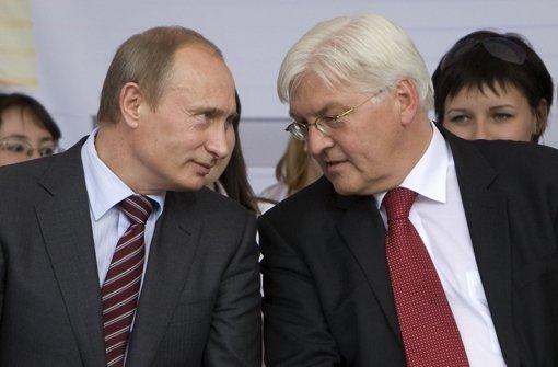 Überraschungsbesuch bei Wladimir Putin