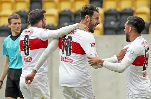 VfB Stuttgart verteidigt mit Auswärtssieg Platz zwei