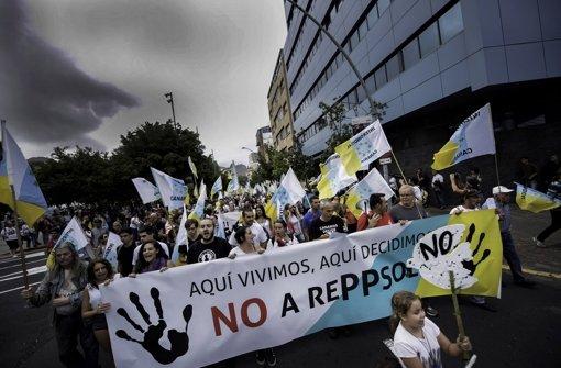 Angst um Natur und Tourismus: Bewohner der Inseln warnen vor Ölbohrungen Foto: AFP