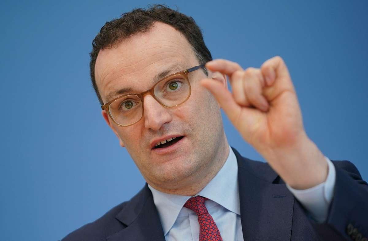 Gesundheitsminister Jens Spahn (CDU) Foto: dpa/Michael Kappeler