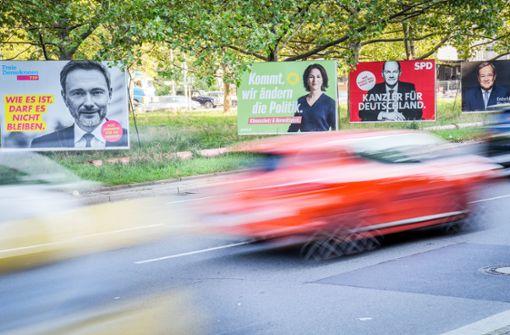 Über 400 Straftaten gegen Parteien und Kandidaten angezeigt