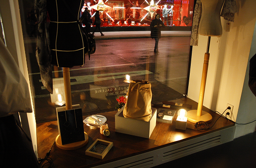 Design, Mode und Kunst am Marktplatz