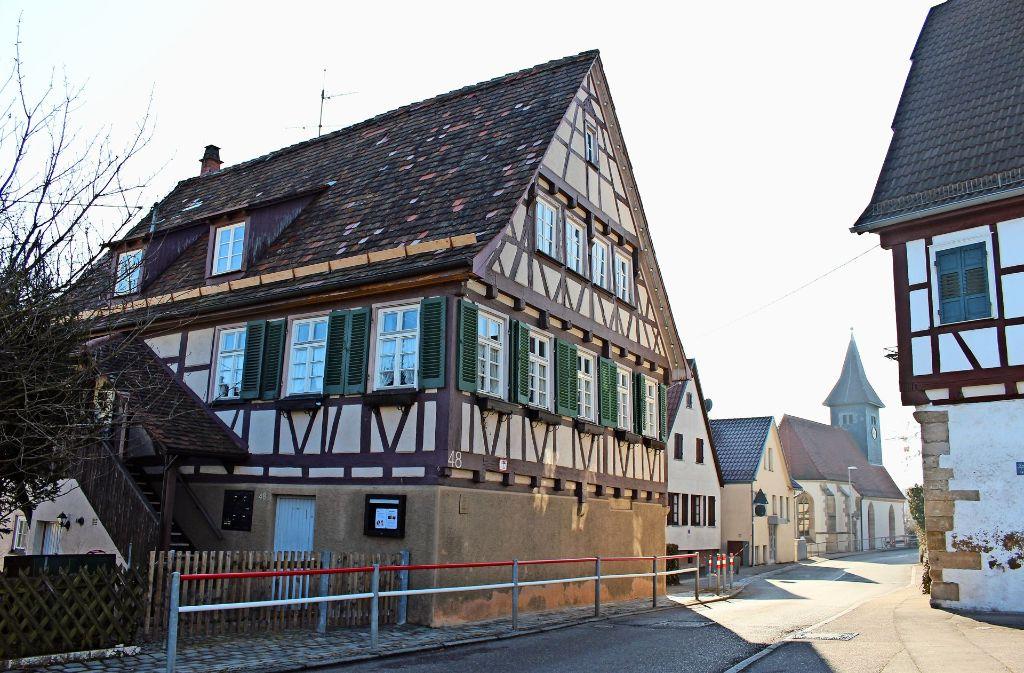 Die Heumadener wünschen sich ein Heimatmuseum im Alten Rathaus an der Mannspergerstraße. Foto: Caroline Holowiecki