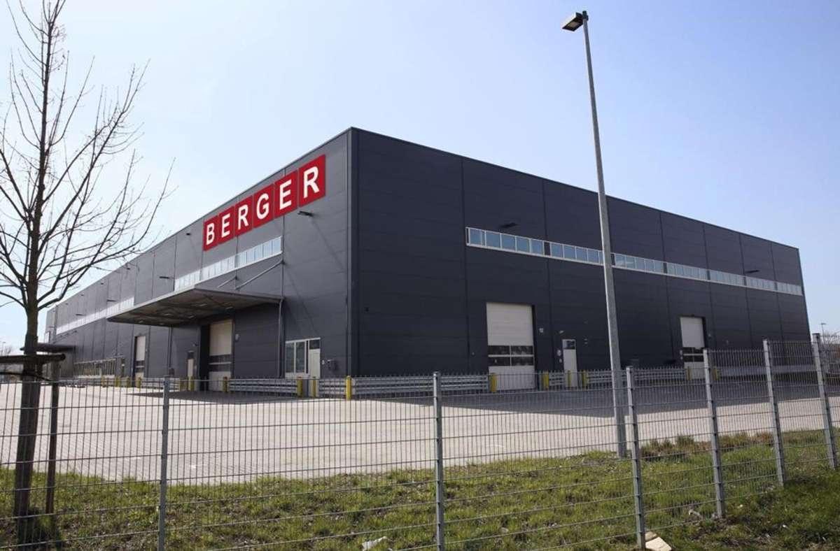 Die Berger Group bietet Lager-, Betriebs- und Büroeinrichtungen an. Foto: Berger Group