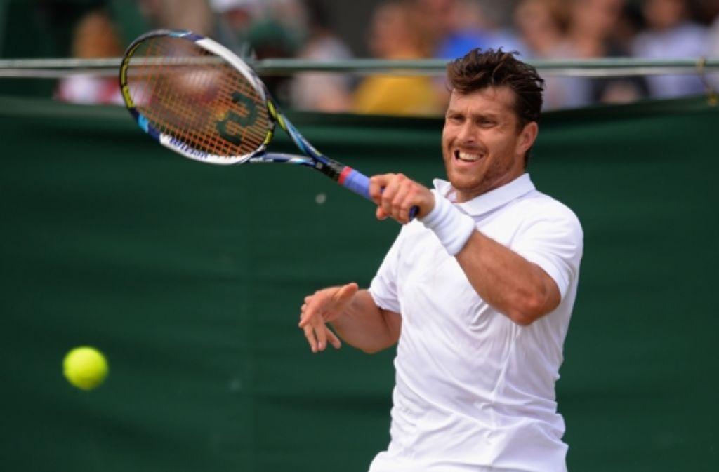 Der Stuttgarter Tennisprofi Michael Berrer hat den Sprung ins Hauptfeld beim Tennisturnier von Wimbledon geschafft, ebenso wie ... Foto: Getty Images Europe