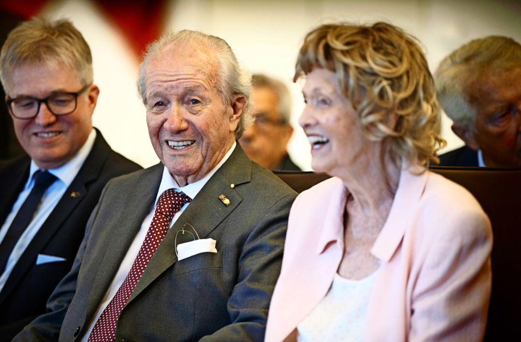 Die 90 Jahre sieht man Siegfried Steiger nicht an.Foto:Gottfried Stoppel Foto: