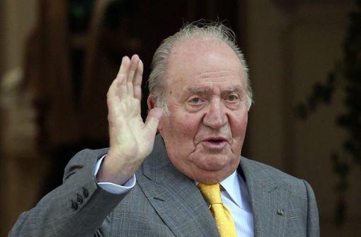 Spaniens Ex-König  nach Herz-OP erstmals aufgestanden