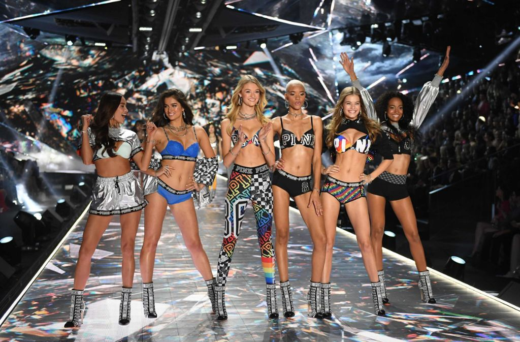 Die Shows von Victoria's Secret waren legendär. Foto: AFP/TIMOTHY A. CLARY