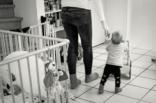 Angst, das eigene Baby zu berühren