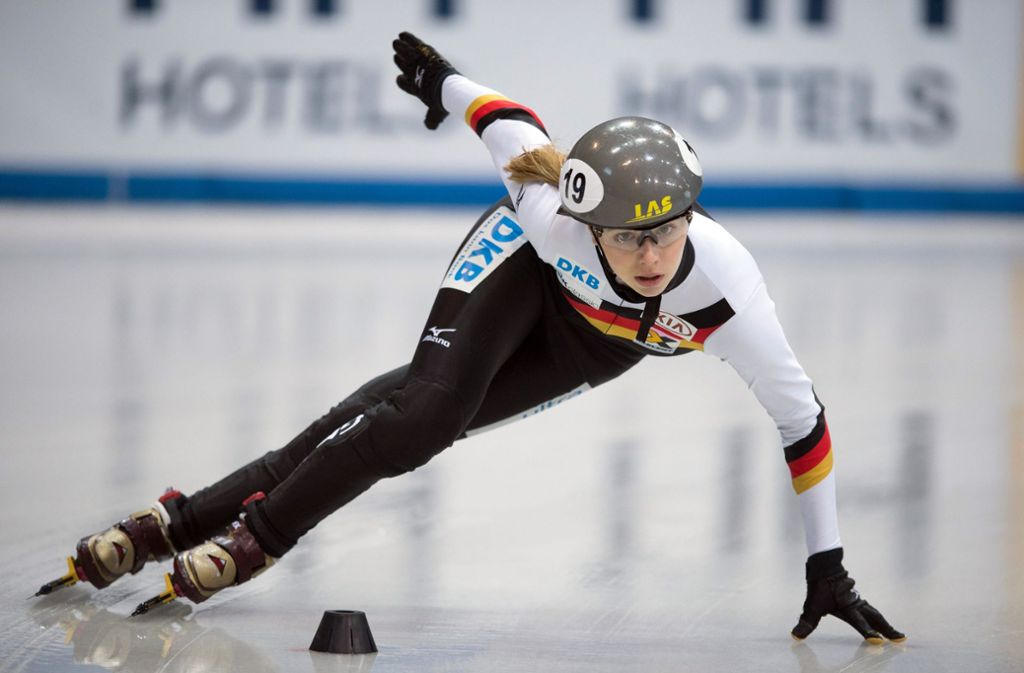 Anna Seidel läuft für Deutschland Foto: dpa