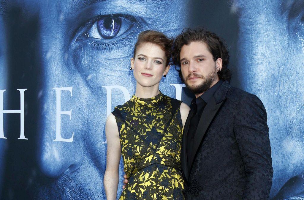 Für Game of Thrones standen Harrington und Leslie gemeinsam vor der Kamera. Foto: dpa