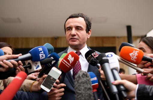 Der Rebell des Kosovo greift zur Macht