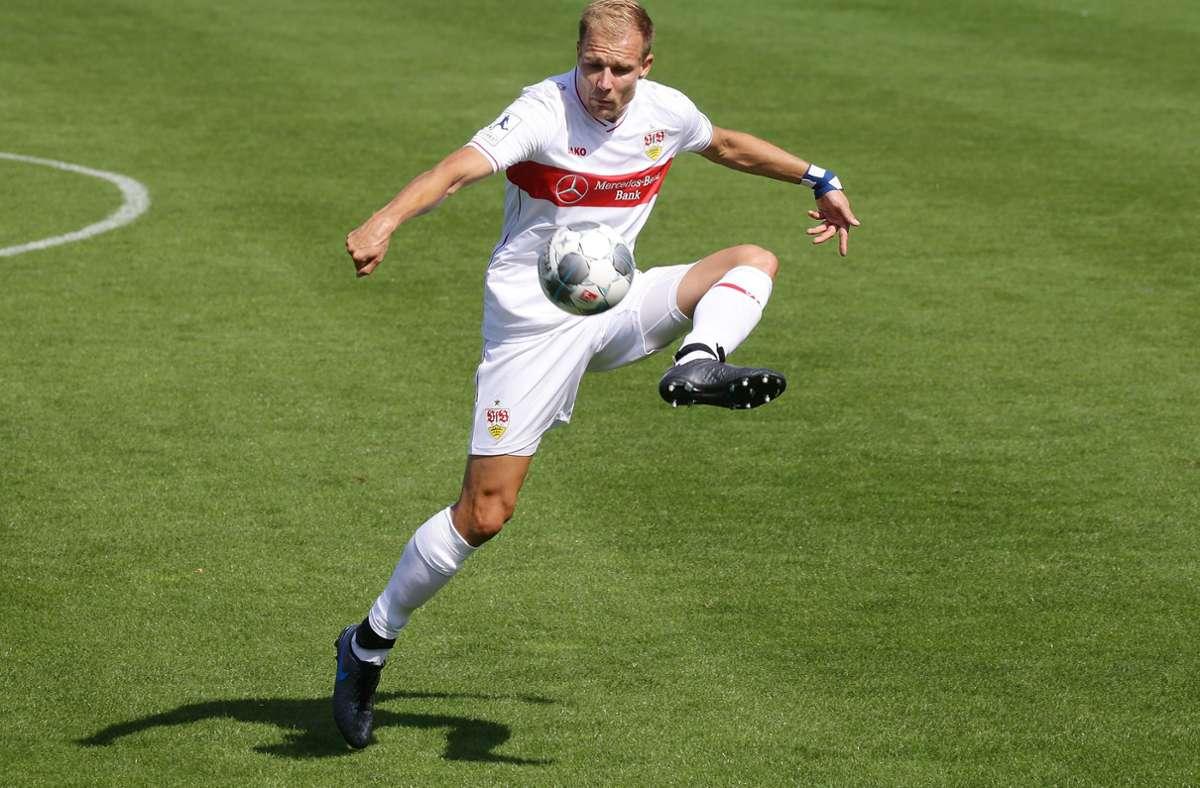Holger Badstuber im Dress des VfB Stuttgart II. Foto: Pressefoto Baumann/Hansjürgen Britsch