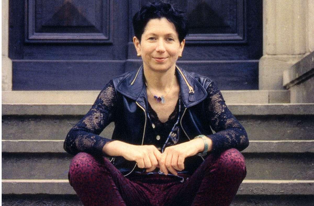 Rosalie 1994 auf der Vortreppe von Haus Wahnfried Foto: Thomas Jürgens