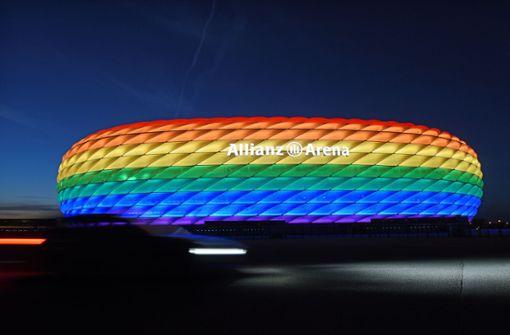 """Druck auf UEFA wächst – """"Regenbogen-Frage"""" ist offiziell gestellt"""