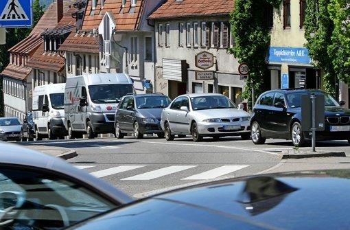Weniger  Feinstaub  in der Grabenstraße