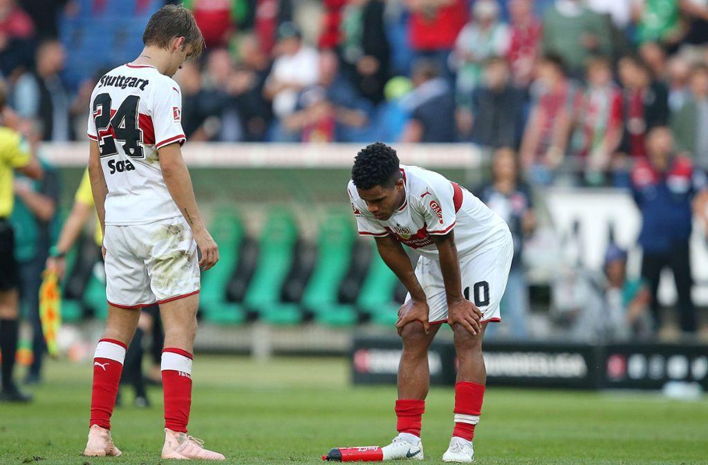Zwei, die beim VfB schon eine ganze Weile vermisst werden: Borna Sosa (links) und Daniel Didavi Foto: Baumann