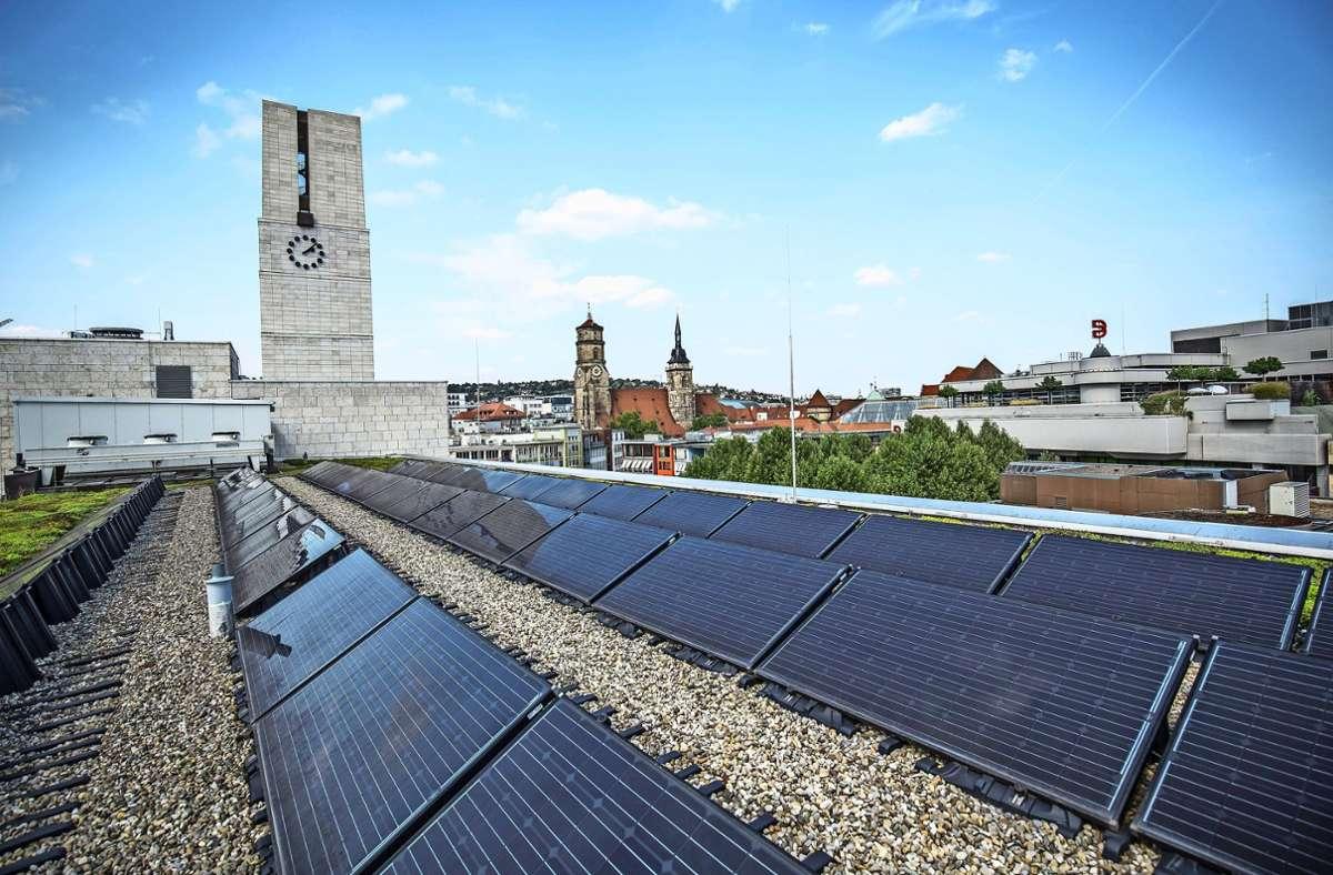Lange Zeit war Fotovoltaik im Rathaus kein Thema, der Ausbau kam kaum voran. Inzwischen haben Verwaltung und Gemeinderat umgeschwenkt. Foto: Lichtgut/Leif Piechowski