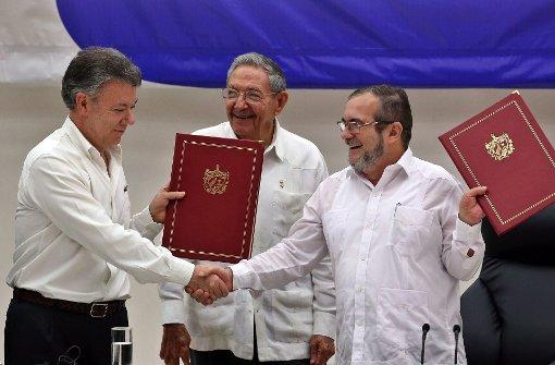 Kongress billigt neues Friedensabkommen