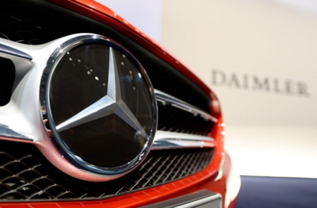 Auch der neuen C-Klasse hat Daimler das Plus bei den Verkäufen zu verdanken. Foto: dpa