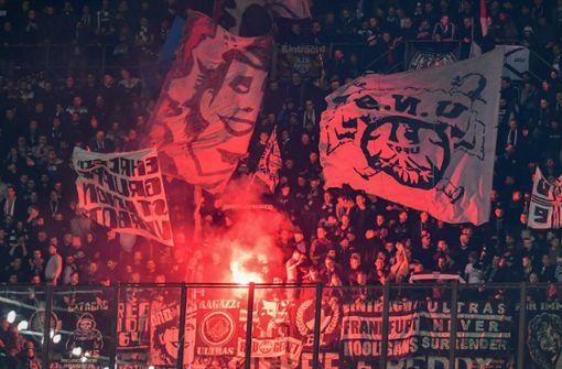Eintracht Frankfurt droht im Viertelfinale Fan-Ausschluss