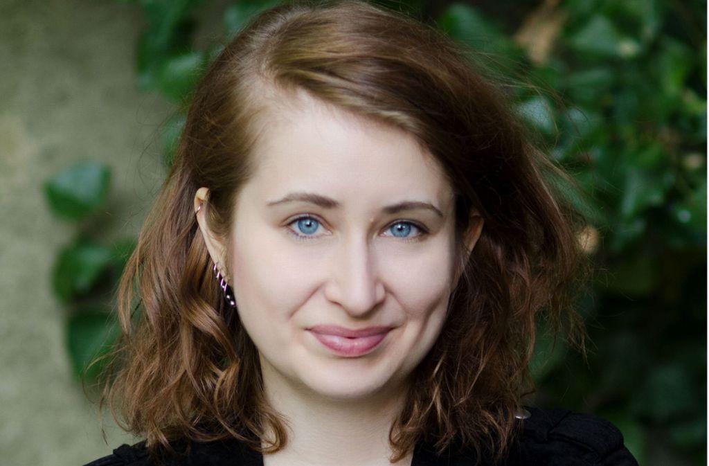 """Margarete Stokowski fordert in ihrem neuen Buch ein """"Ende des Patriarchats"""" Foto: Rosanna Graf"""