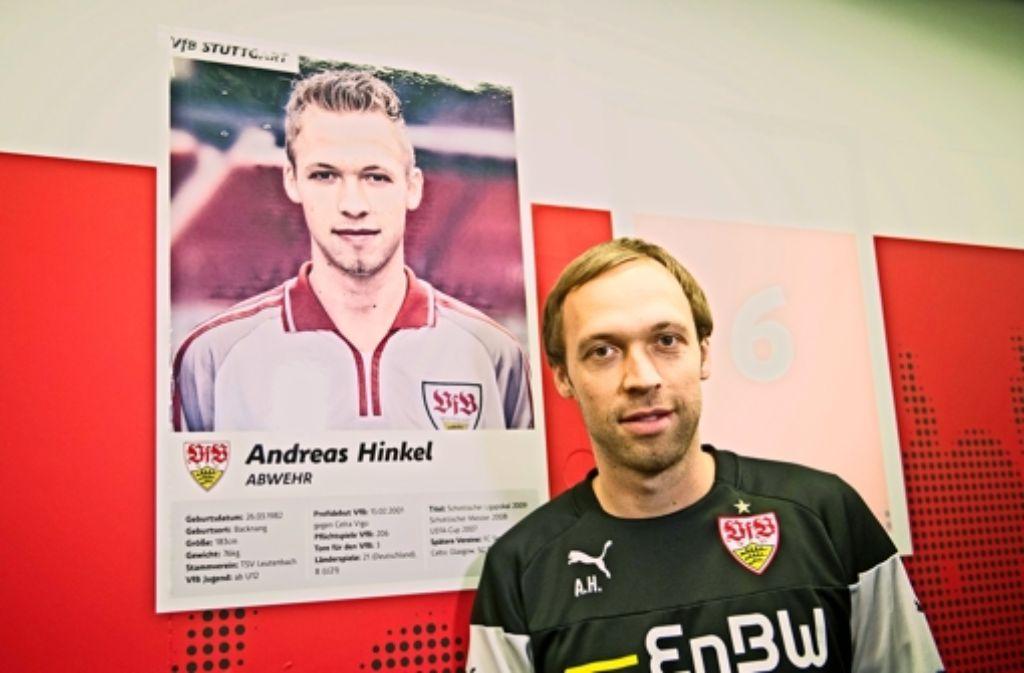 Ein alter Bekannter: Andreas Hinkel, neuer Co-Trainer des VfB II Foto: dpa