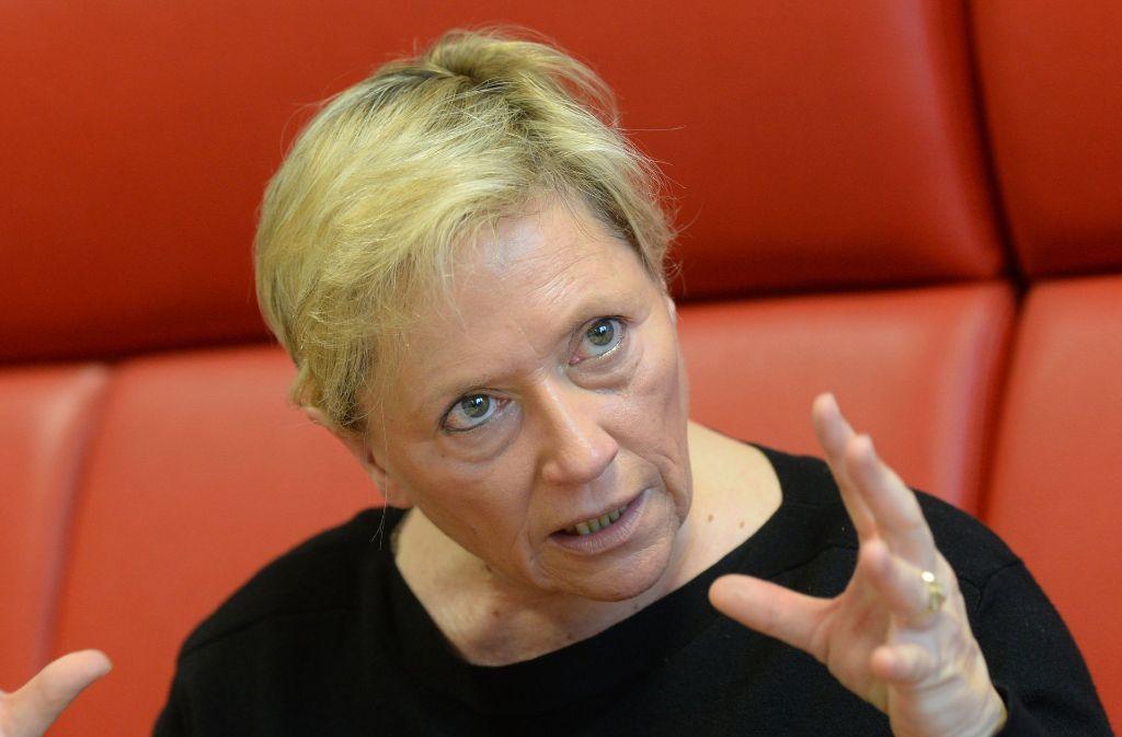 Susanne Eisenmann bleibt bei ihrer Haltung: Was falsch ist, muss korrigiert werden. Foto: dpa