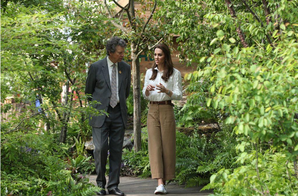 """Herzogin Kate hat für die """"Chelsea Flower Show"""" ihren eigenen Garten entworfen. Foto: Getty Images"""