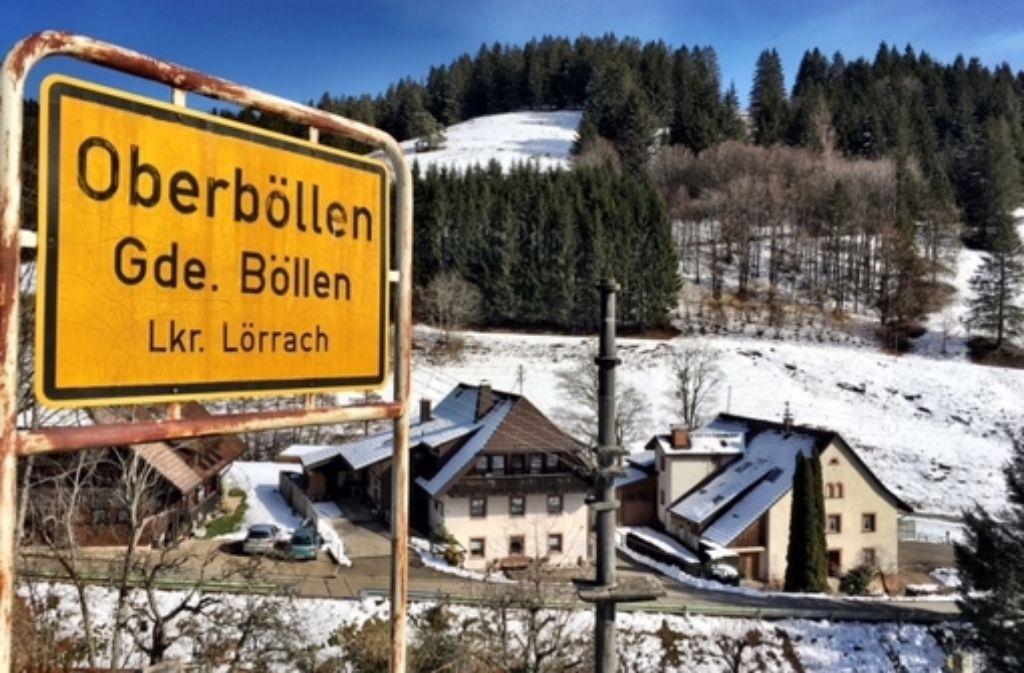 In der Gemeinde Böllen wohnen nicht einmal 100 Menschen. Foto: Knut Krohn