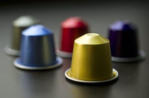 Sie sind klein, verursachen jede Menge Müll und bescheren den Kaffeeherstellern maximale Gewinnmargen: Portionskapseln mit sechs bis sieben Gramm Röstkaffee. Foto: dpa