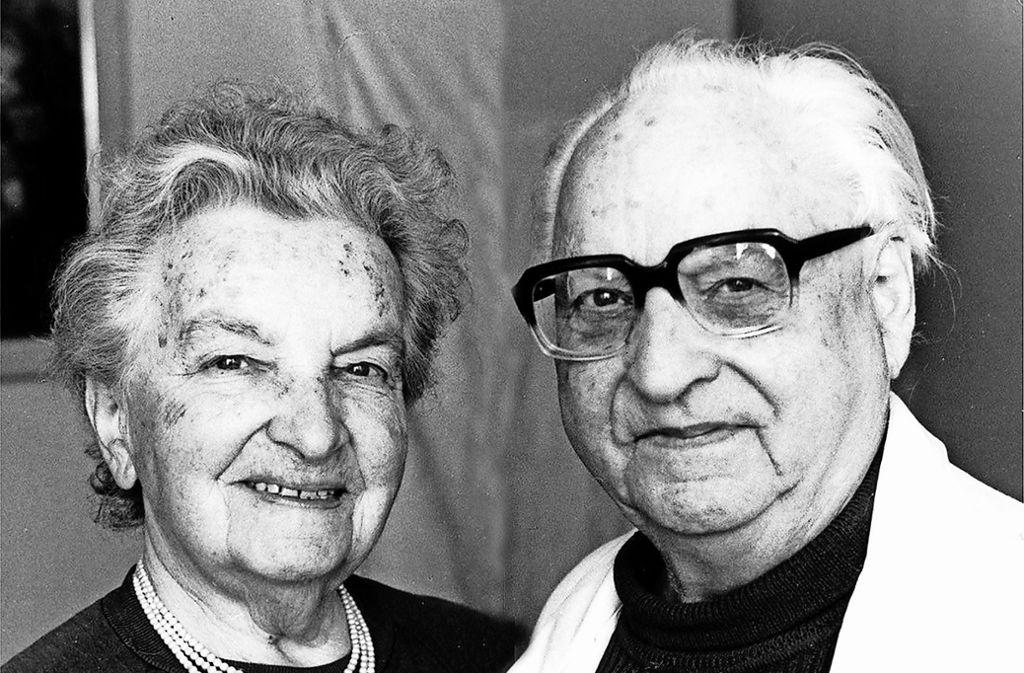 Maria und Otto Herrmann stammten beide aus  Feuerbach. Foto: privat